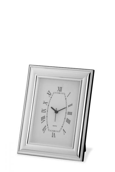 Uhr mit Rahmen breit glatt 13x18