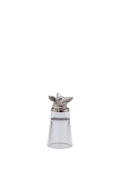 Schnapsglas Wildschwein