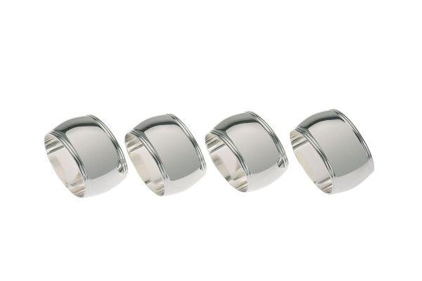napkin ring oval twine set of 4