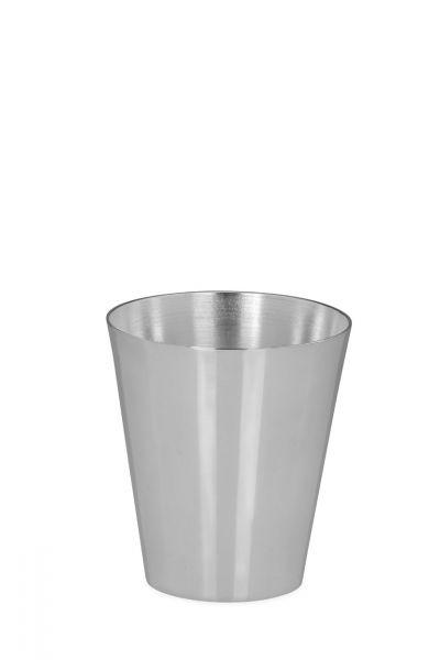 Becher glatt poliert 10 cm