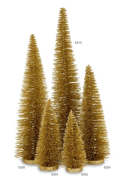 Glitzerbaum gold 45,0 cm