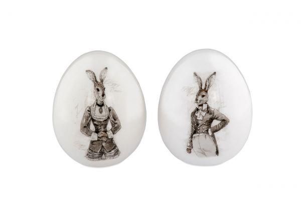 Eier-Paar Nostalgie 11,5 cm
