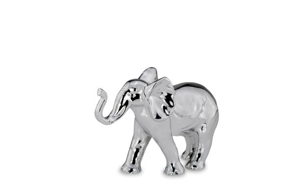 """Elefant """"Happy"""", Rüssel oben, klein"""