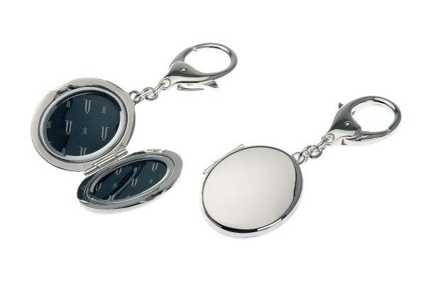 Schlüsselanhänger oval Medaillon