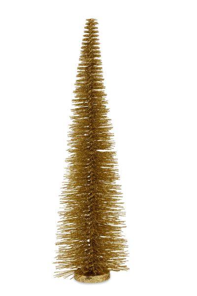 Deko - Glitzerbaum gold 55,0 cm