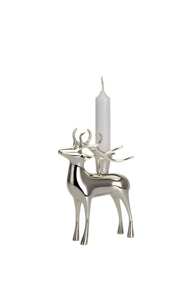 Rentier Kerzenhalter klein