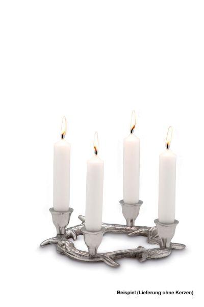 Kerzenständer Geweih, für 4 Kerzen