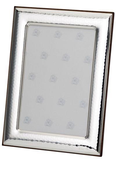 Rahmen gehämmert 18x24 - Echt Silber