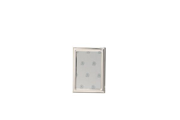 Rahmen leicht gewölbt glatt poliert 10x15 - Echt Silber