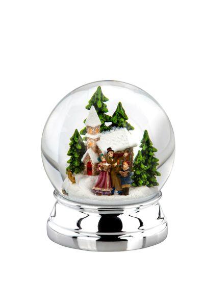 Schneekugel Weihnachtssänger XL