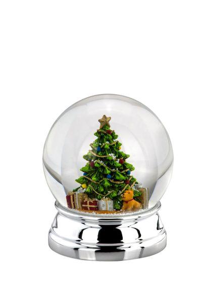 Schneekugel Weihnachtsbaum XL