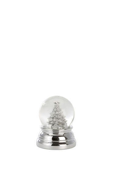 Schneekugel Christbaum 6,5 cm