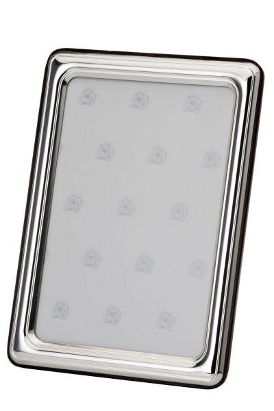 Rahmen glatt poliert 13x18 - Echt Silber