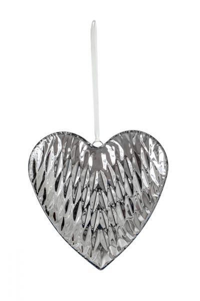 Herz-Anhänger Diamant 27 x 27 cm