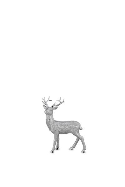 Hirsch stehend klein Blick nach Links