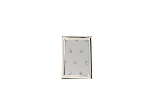 Rahmen leicht gewölbt glatt poliert 13x18 - Echt Silber