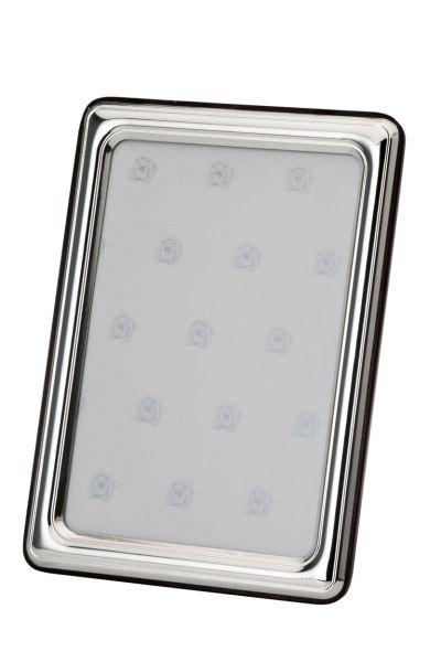 Rahmen glatt poliert 10x15 - Echt Silber