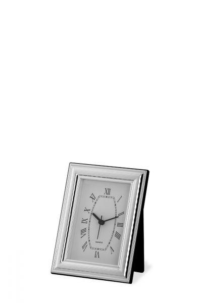 Uhr mit Rahmen breit gehämmert 9x13