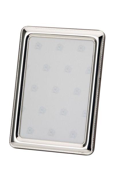 Rahmen Perlrand 13x18 - Echt Silber