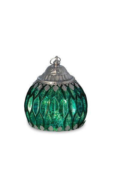 Glaslaterne Grün