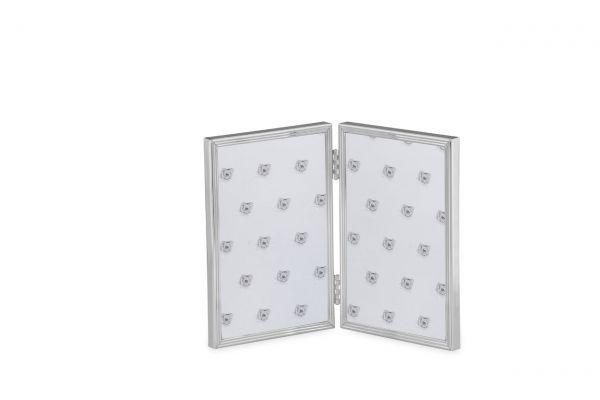 Doppelrahmen Faden schmal 10x15