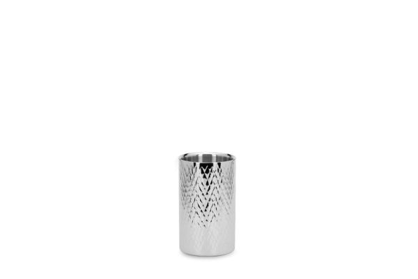 Flaschen-/Champagnerkühler Rautenmuster