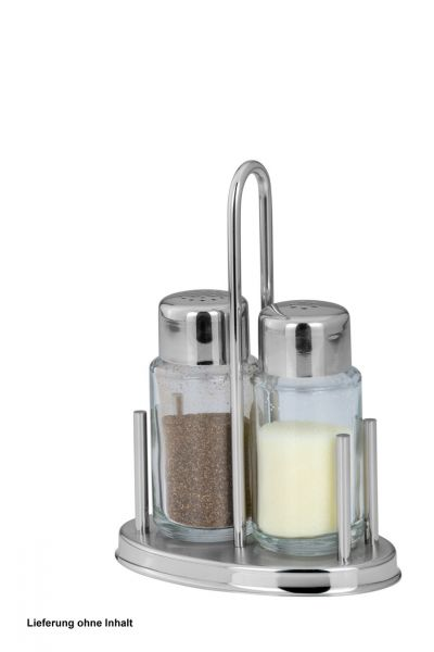 Salz- / Pfeffer-Menage 3-tlg.