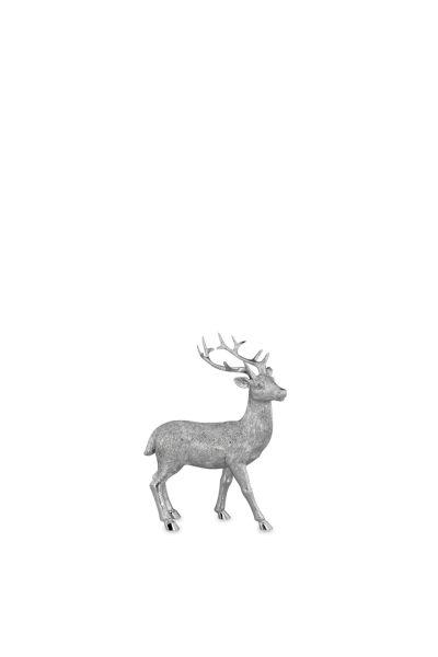Hirsch stehend klein Blick nach Rechts