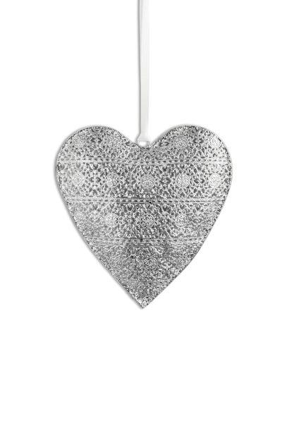 Herz-Anhänger verziert Ø 21,0 cm