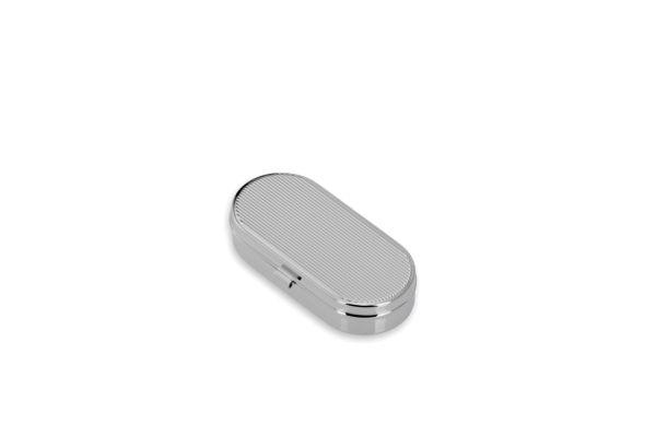 Pillendose oval, Faden, 2-geteilt