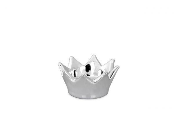 Teelichthalter Krone