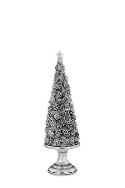 Weihnachtsbaum klein mit Pinienzapfen-Dekor