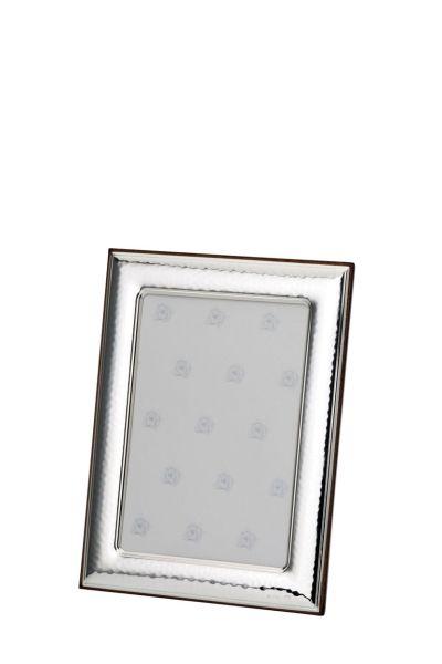 Rahmen gehämmert 6x9 - Echt Silber
