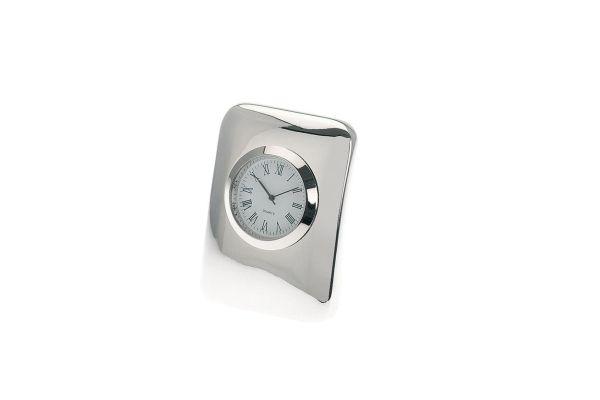 Uhr rechteckig glatt poliert