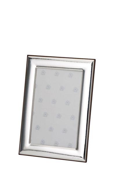 Rahmen glatt poliert 9x13 - Echt Silber