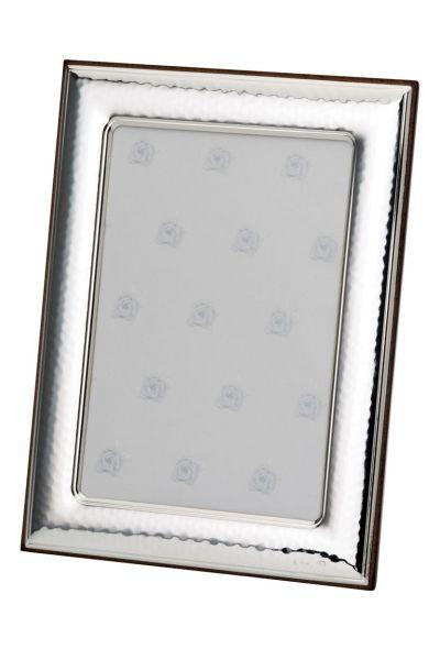 Rahmen gehämmert 15x20 - Echt Silber