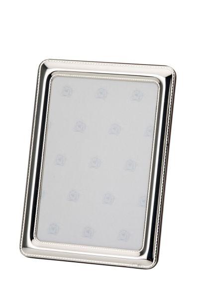 Rahmen Perlrand 10x15 - Echt Silber