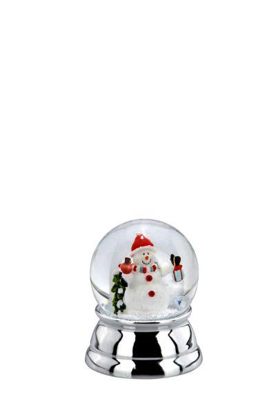Schneekugel Schneemann klein