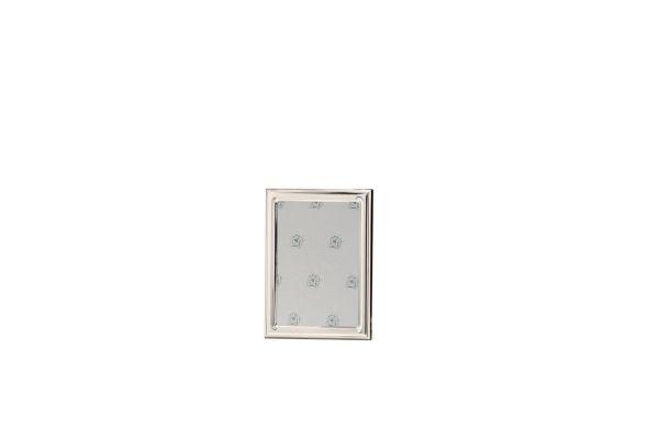Rahmen leicht gewölbt glatt poliert 9x13 - Echt Silber
