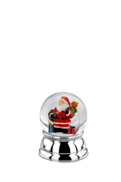 Schneekugel Weihnachtsmann klein
