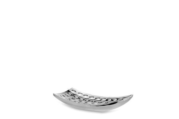 Schale rechteckig klein Edelstahl 30 x 18 cm