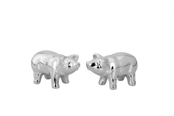 Glücksschweinchen-Set 2-tlg. mittel