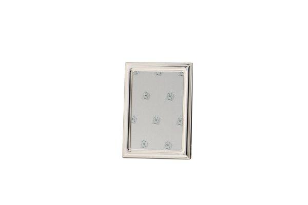 Rahmen gewölbt glatt poliert 18x24 - Echt Silber