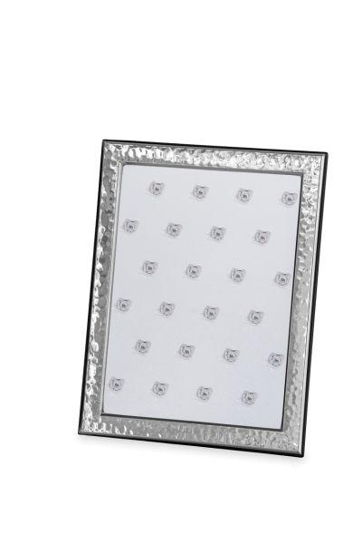 Rahmen gehämmert 15 x 20 Echt Silber mit Holzrücken