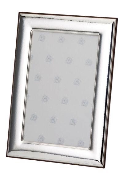 Rahmen glatt poliert 18x24 - Echt Silber