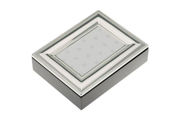 Fotobox aus Holz mit Fotorahmen-Deckel Perland