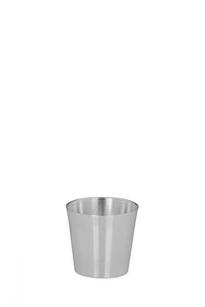 Becher glatt poliert 5 cm