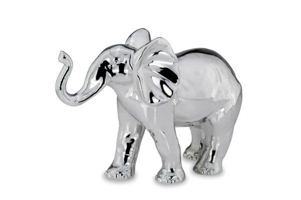 """Elefant """"Happy"""", Rüssel oben, groß"""