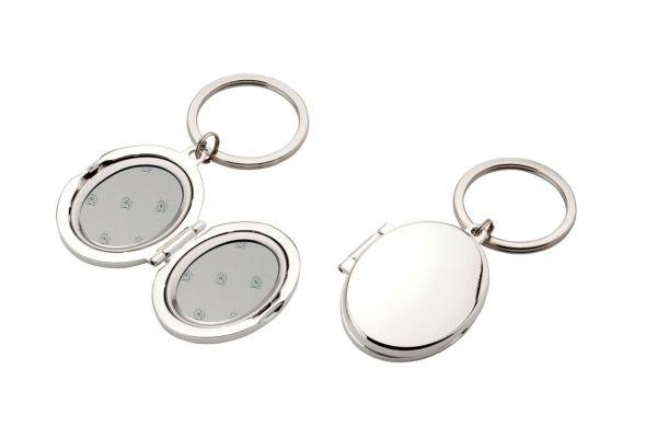 Schlüsselanhänger oval, Medaillon