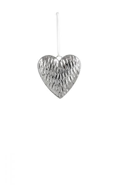 Herz-Anhänger Diamant 14 x 14 cm